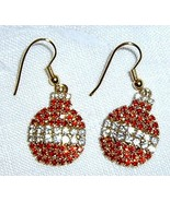 OTC Earrings - RHINESTONE ORNAMENTS - $8.95