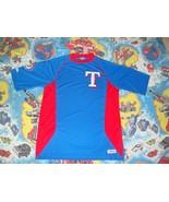 MLB Texas Rangers baseball Stitches Brand Sewn Logo Jersey T Shirt Adult... - $19.74