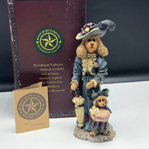 BOYDS BEARS FOLKSTONE COLLECTION figurine statue 2875 Francoise Suzanne ... - $27.72