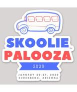 Skooliepalooza™ 2020 Official Commemorative Vinyl Sticker - $6.00