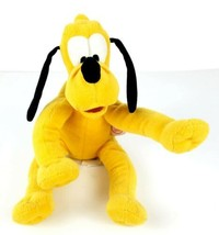 "Rare Original Disney Poseable Bendable Pluto the Dog 11"" Stuffed Plush - $14.99"