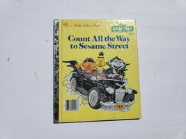 1985 Count All the Way to Sesame Street Golden Book by Dina Anastasio,  - $8.89