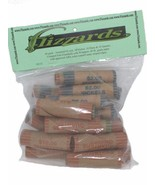 Mixed, 1c - 25c, Crimped End Gunshell Coin Wrappers, 40 Pack  - £3.72 GBP
