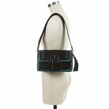NWT Brahmin Marla Leather Shoulder Bag in Black Sorensen - $319.00