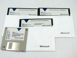 "Vintage Microsoft Excel for Windows 3.5"" Floppy 5.5"" Floppy - $29.65"