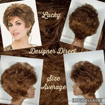 NEW! TWC Designer Direct Wig Lucky #30 Med Auburn Sz Average New With Ta... - $15.83