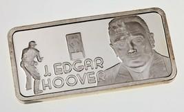 1975 Die Hamilton Ungebraucht Kunst Barren 1 Oz. Silber BAR Von J.Edgar ... - $49.01