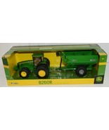 John Deere LP51303 Die Cast Metal Replica 8260R Tractor Grain Cart - $55.99