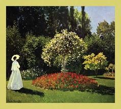 Woman in the Garden by Claude Monet - Art Print - $19.99+