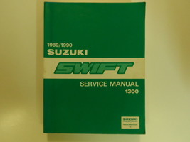 1989 1990 Suzuki Swift 1300 Service Repair Shop Manual Factory Oem Book 89 90 X - $178.19