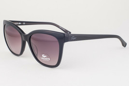Lacoste Black / Brown Gradient Sunglasses L792S 001 54mm - $107.31
