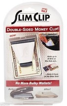 Slim Clip New Stainless Steel Money Clip Credit Card Holder Double Sided Wallet  - $198.55