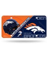 Denver Broncos License Plate Metal**Free Shipping** - $16.30