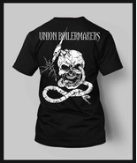 Union Boilermakers T shirt Skull black Tig torch Short sleeves all sizes  - $19.99