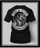 Union Boilermakers T-shirt Sons of Steel Skull shirt Black Boilermaker - $19.99