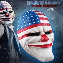 Payday Dallas Mask Helmet Halloween Cosplay Season Resin - $64.35 CAD