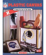 NFL Plastic Canvas Patterns Book Volume 1402  Nomis National Football League   - $42.99