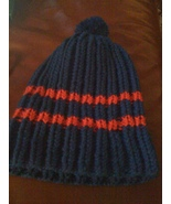 Knit royal blue beanie/cap/hat/ski - $15.00