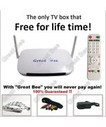New Great Bee Arabic TV box IPTV 2019 support 400 Arabic Channels FREE F... - $120.21