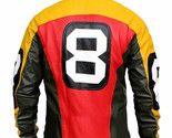 8 Ball Seinfeld Puddy Patrick Warburton Bomber Leather Jacket - £46.24 GBP