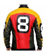 8 Ball Seinfeld Puddy Patrick Warburton Bomber Leather Jacket - £45.65 GBP