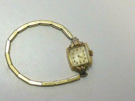 Vintage Ladys Longines 10kt Gold Filled 17Jewel Watch WRISTWATCH From Mo... - $19.99
