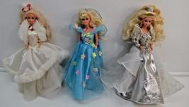 Vintage Barbie Set of 3 1980s Dress Holiday Seq... - $46.60