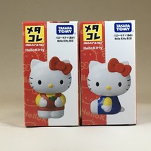 Metacolle Metal Figure Collection: Sanrio Hello Kitty Red & Blue - Takara Tomy - $27.04