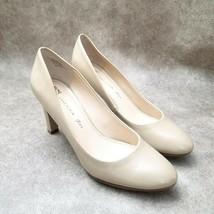"Anne Klein Womens iFlex Clemence  Sz 9 M Tan  Slip On 3.5"" Heels Pumps - $29.99"