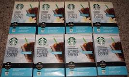Starbucks Regular or Vanilla Iced Coffee Sweetened K Cups 40 Count *Plea... - $31.99