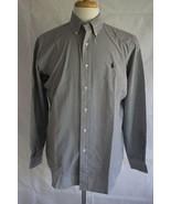 Ralph Lauren Men's Long Sleeve Classic Fit Button Down Dress Shirt Size M - $19.79