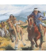 Superstition Downs - Southwest Indian Painting Limited Edition Giclee Pr... - $150.07