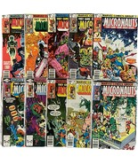 ~Marvel Comics~ MICRONAUTS Lot of 10 Run #11-20 Bronze Age Key - $29.69
