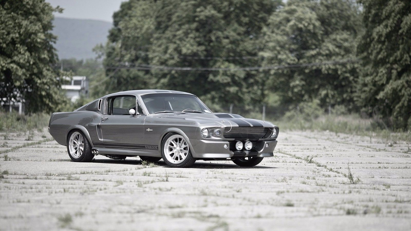 Primary image for 1967 Ford Mustang Shelby GT500 24X36 inch poster, sports car, muscle car