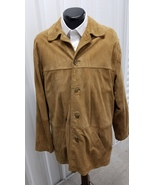 JOS A Bank Tan Suede Jacket, Size Medium - $89.00