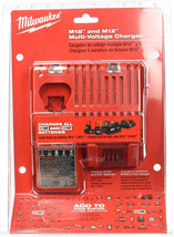 Milwaukee 48-59-1812 M12 or M18 18V and 12V Multi Voltage Lithium Ion Battery w - $60.94