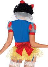 Women's Sexy Miss Rebel Snow White Disney Cosplay Deluxe Costume Set image 3