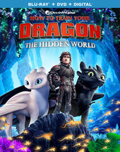 How to Train Your Dragon: The Hidden World [Blu-ray + DVD + Digital]
