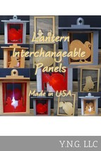 THANKSGIVING INTERCHANGABLE PANELS FOR LANTERN HOME DECOR 3D PRINTED PR1... - $0.99