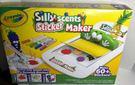 Crayola Silly Scents Sticker Maker New Makes 60+ Stickers - $11.61