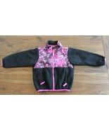 The North Face Denali Fleece Jacket Toddler 2T Black Polka Dot Confetti - $36.60
