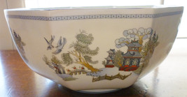 WEDGWOOD CHINESE LEGEND OCTAGONAL BOWL, BONE CHINA, RARE, VIRTUALLY NEW,... - $95.00
