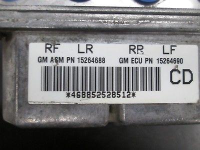 04 05 06 07 08 CADILLAC STS 3.6L ABS PUMP & MODULE #18045489
