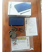 Nintendo DS Lite Cobalt Blue with Charger and Box  - $118.80