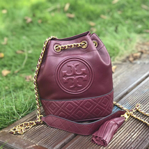 Tory Burch Fleming Mini Leather Bucket Bag - $279.00