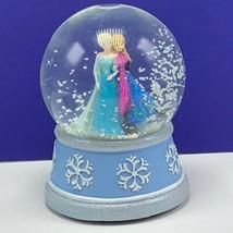 Walt Disney Frozen snowglobe Elsa Anna Ana snowdome water ball Let It go musical - $94.05