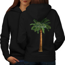 Palm Springs Sweatshirt Hoody California Women Hoodie Back - $21.99+