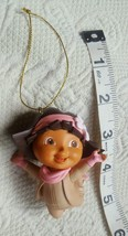 2011 Nickelodeon Dora the Explorer Christmas Tree ornament pink snowsuit... - $14.85