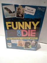 Funny or Die The Hilarious Caption Game Ages 13+ Hasbro Gaming 3-6 Players image 3