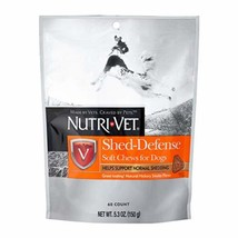 Nutri-Vet Shed-Defense Soft Chews for Dogs, 5.3 oz - $9.86
